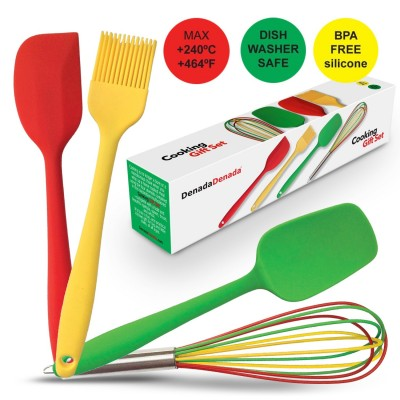 4 Silicone Kitchen Tools