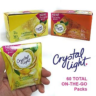 60 pk Crystal Light On-The-Go Packs