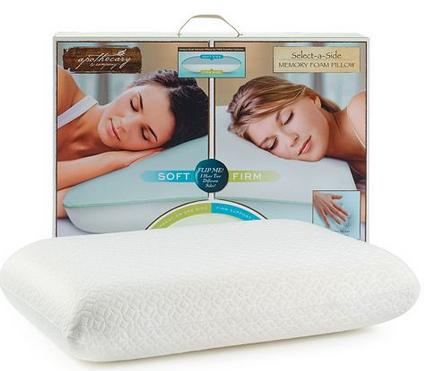 Apothecary Select-A-Side Memory Foam Pillows