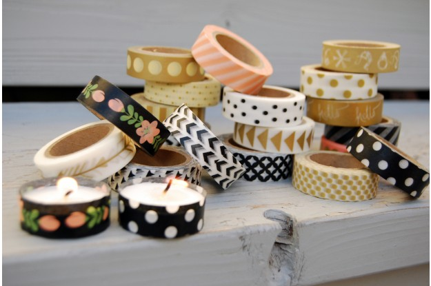 Black and Gold Collection Washi Tape