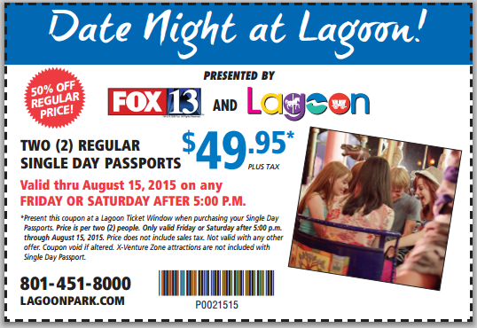 Date night at lagoon