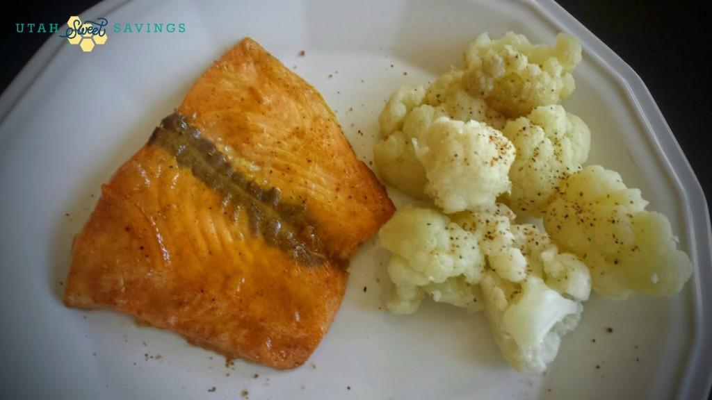 Dream Dinners Salmon