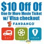 Fandango 10 off deal