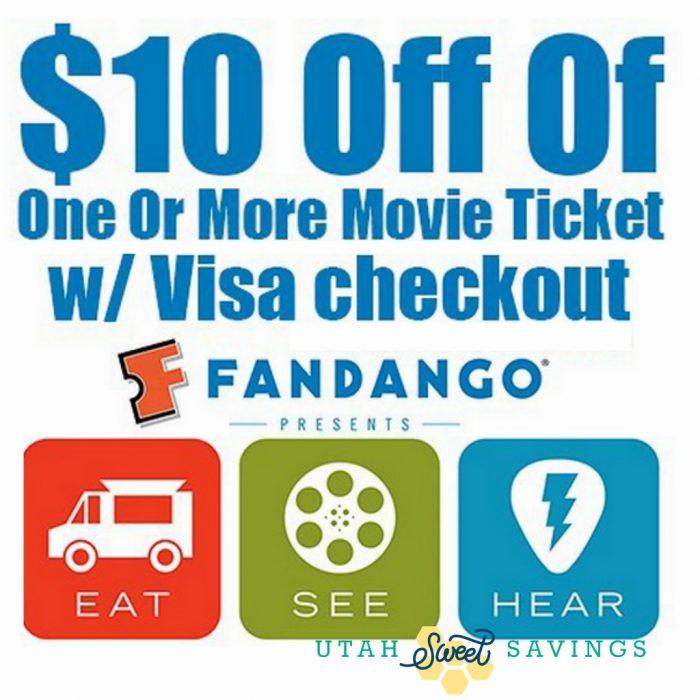 Fandango 10 off deal