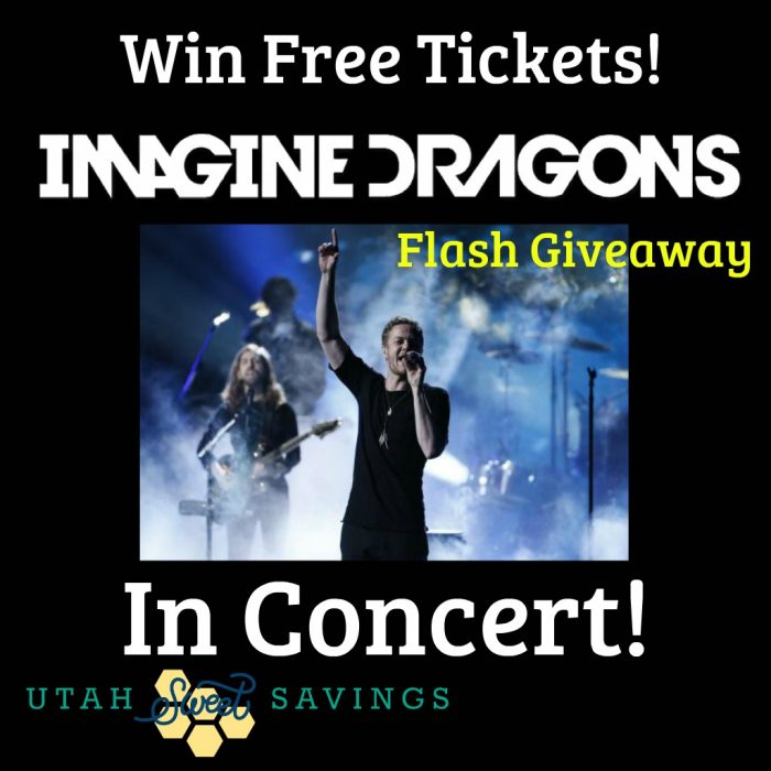 Imagine Dragons Giveaway