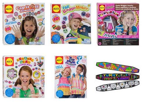 Kohls alex arts & craft kits