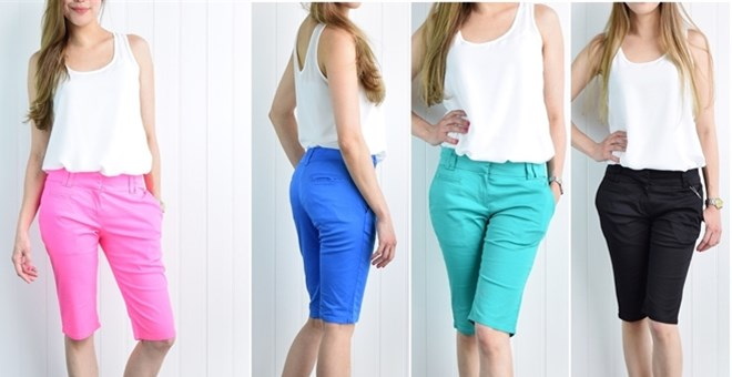 Linday Classic Fit Bermuda Shorts