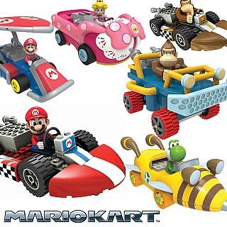 Mario Kart K'NEX Building Sets With