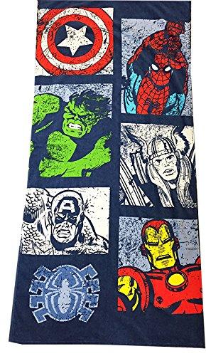 Marvel Comic Force Adult Beach Towel