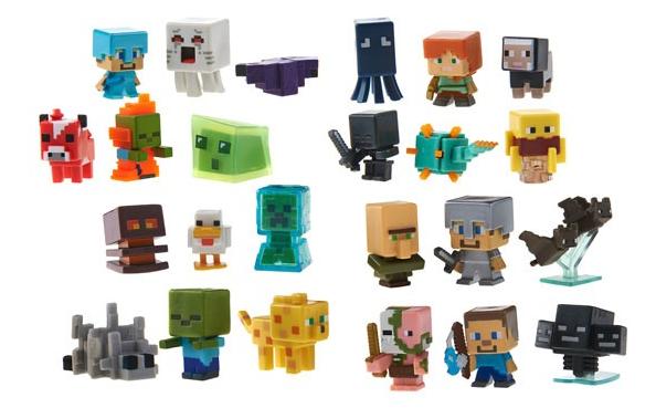 Mattel Minecraft Random Collectible Figure 3-Packs