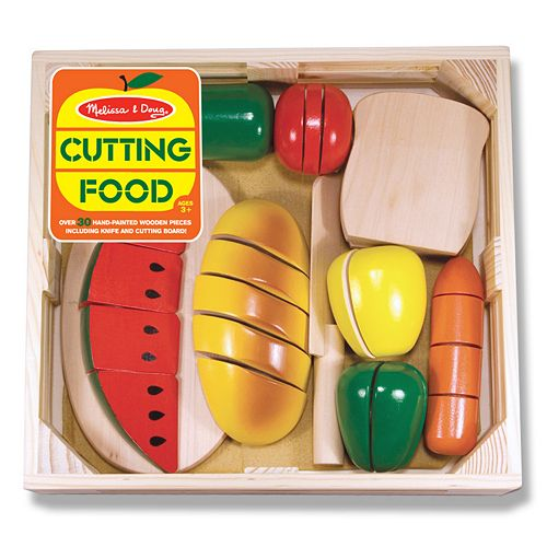 Melissa & Doug Cutting Food Set