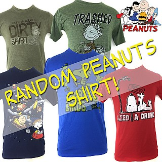 Officially Licensed Peanuts Shirts