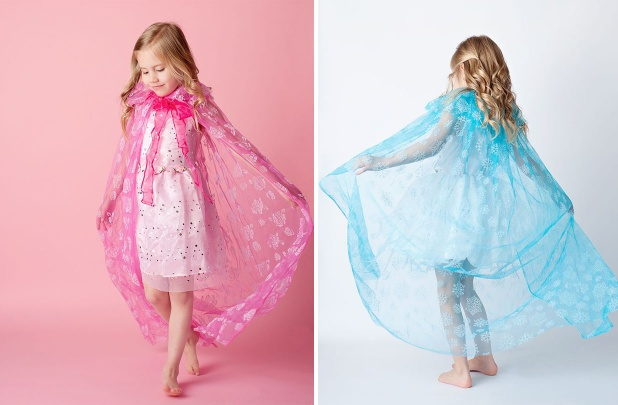 Princess Inspired Sparkle Capes