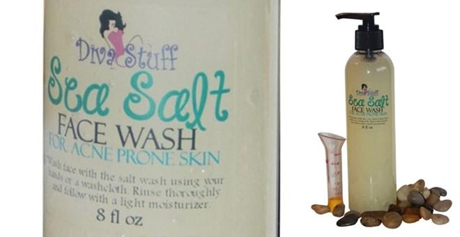 Sea Salt Face Wash