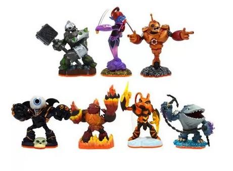 Skylanders Giants 7 Character Figure Bundle