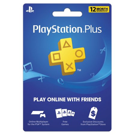 Sony PlayStation Plus 12-Month Membership $39 99 – Utah