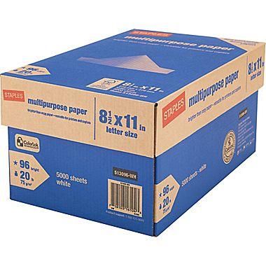 Staples® Multipurpose Paper