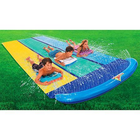 WhamO Slip N Slide Triple Racer with 3 Boogies