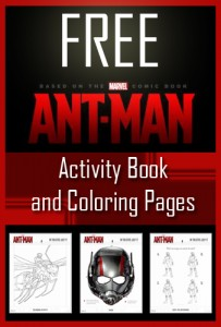 antman free coloring activity book and coloring pages