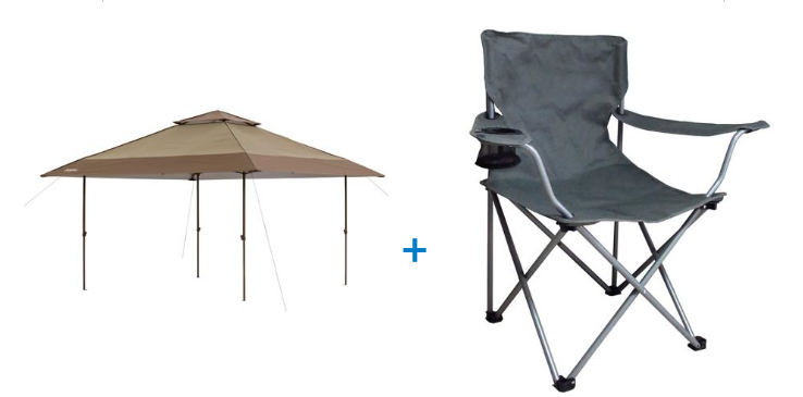 canopy and chair bundle