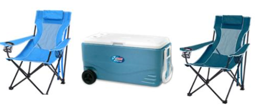 cooler and chair bundle
