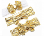 gold bows