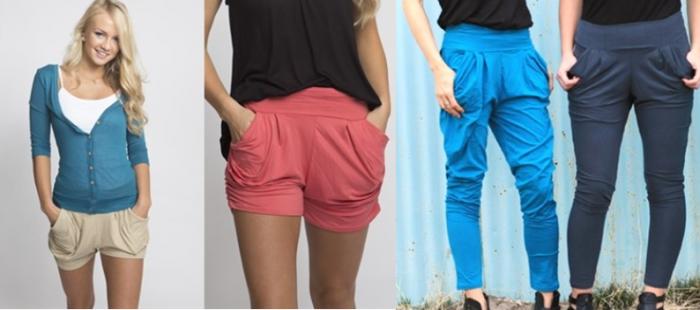 harlem shorts and pants