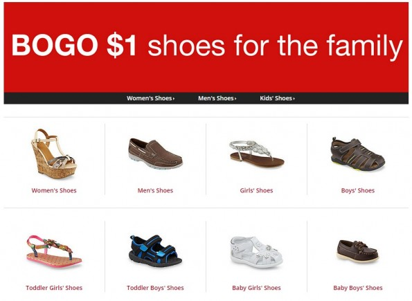 31319963c85 Kmart: Buy One Pair, Get One for a $1 on Shoes for the Family – Utah ...