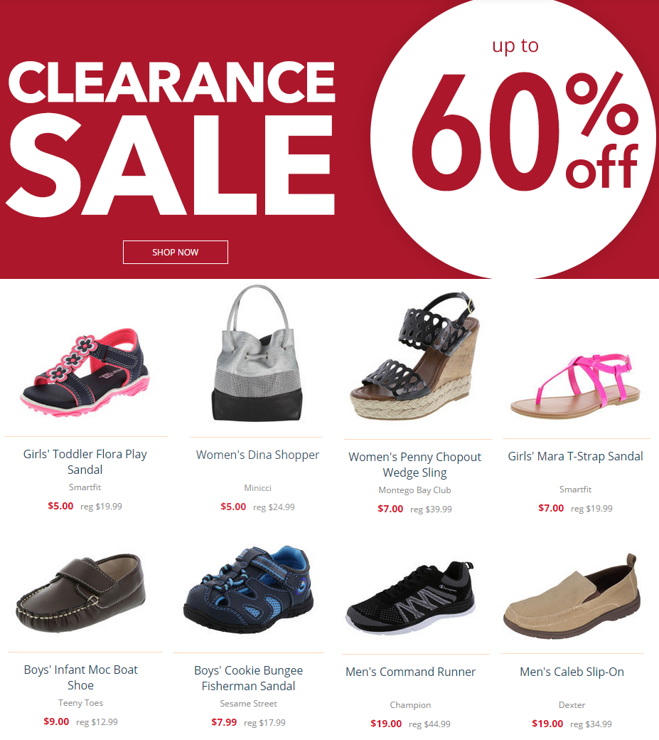 26e35c04fc0 Payless Shoes Clearance Sale! Up to 60% Off Shoes & Accessories ...
