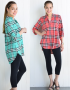 plaid tucnic fall shirts