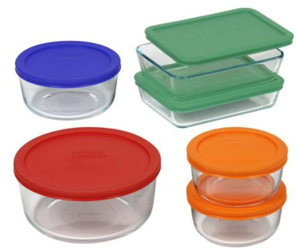 I bought this set and use it almost every day. Itu0027s an amazing set and I love it! This is a super low price! I paid even more than this on Black ...  sc 1 st  Utah Sweet Savings & Pyrex 12pc Storage Plus Food Storage Set for only $14.97 (Reg ...