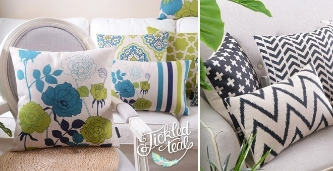 Fun Patterned Pillow Covers