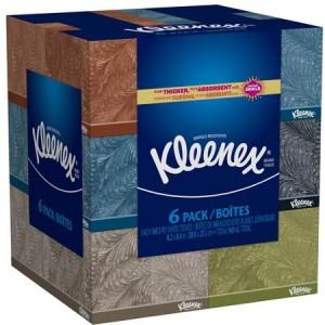 Kleenex Facial Tissues, 960 Sheets (Pack of 6)
