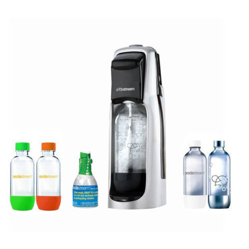 SodaStream Fountain Jet Soda Maker and Exclusive Kit a