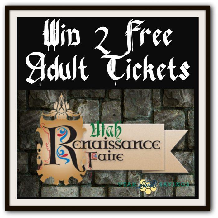 Utah Renaissance Faire Giveaway