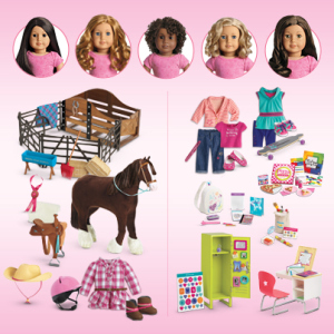 american girl doll collections