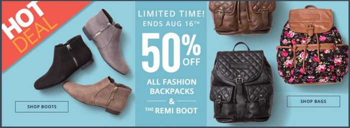 backpacks payless deal