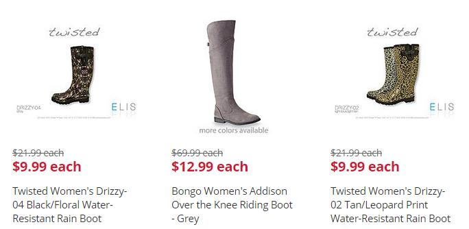 boot deal