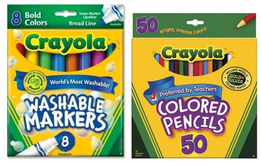 excellent crayola walmart deals with washable markers.