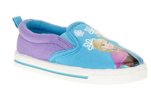 frozen canvas shoes