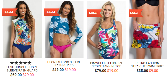 a1ef6a2352 I love their swimwear! There are regular and plus sizes available. hapari  sale