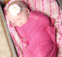knit newborn wraps