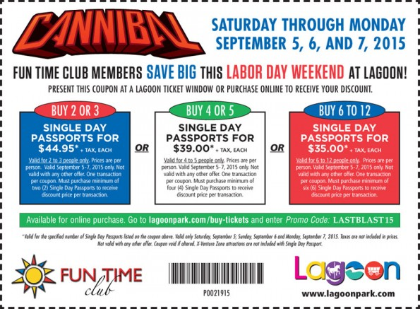 Coupons for Stores Related to lagoonpark.com