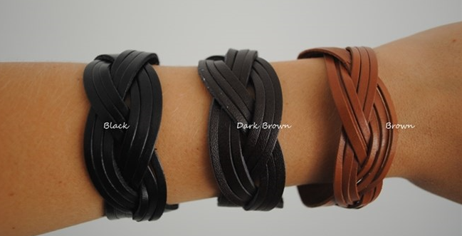 leather cuff braclets