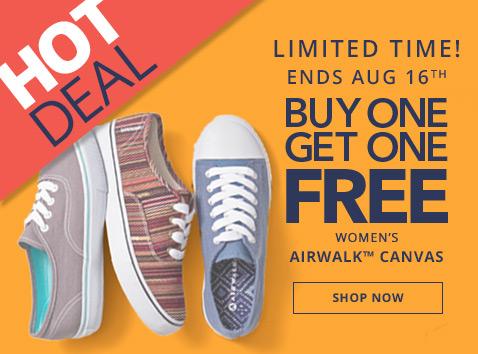 HOT  Payless Shoes  Buy 1 Get 1 FREE Women s Airwalk Shoes e6c84e741