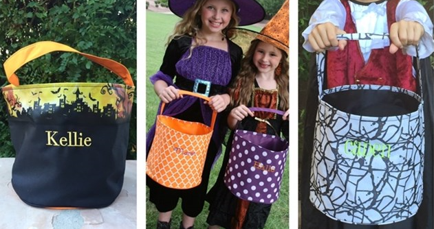 personilzed trick or treat bags