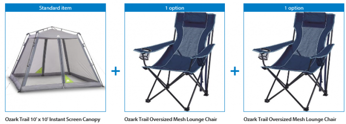 Sensational Today Only Ozark Trail 10 X 10 Instant Screen Canopy Theyellowbook Wood Chair Design Ideas Theyellowbookinfo