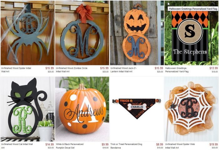 zulily personalizable halloween