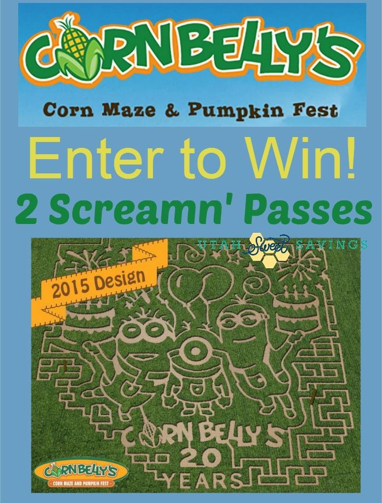 Cornbellys giveaway