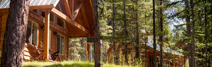 Glacier National Park Cabins